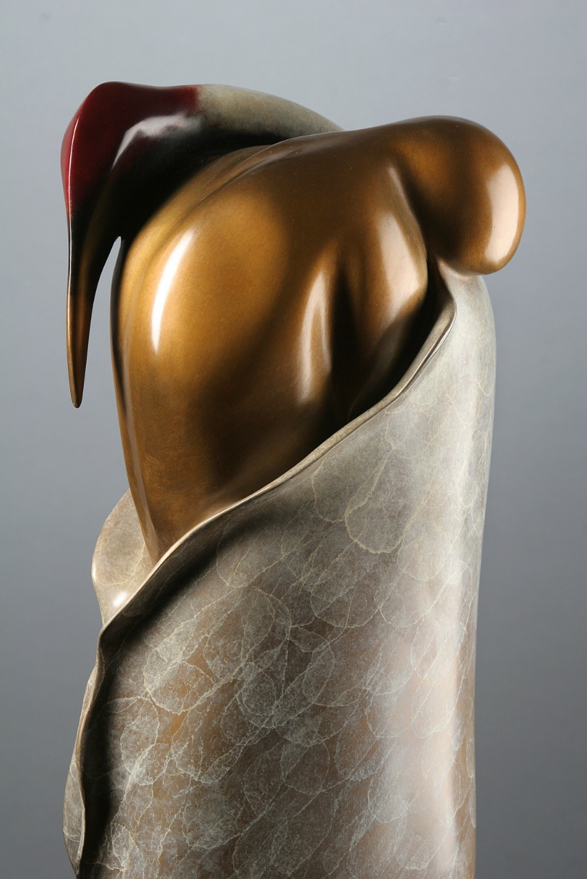 """Embrace"", Bronze, Sharon Spencer"