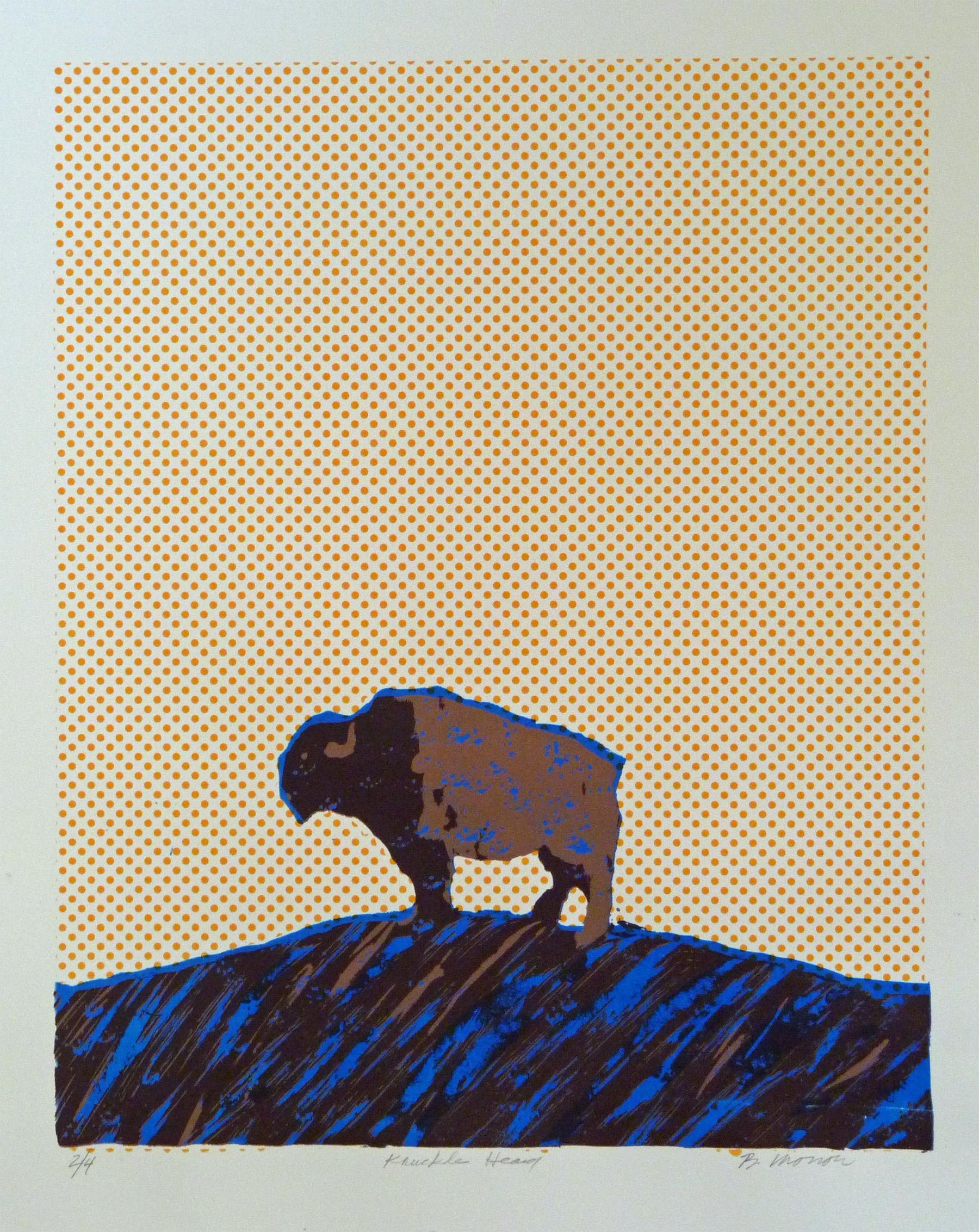 Knucklehead, Print, Bruce Morrow