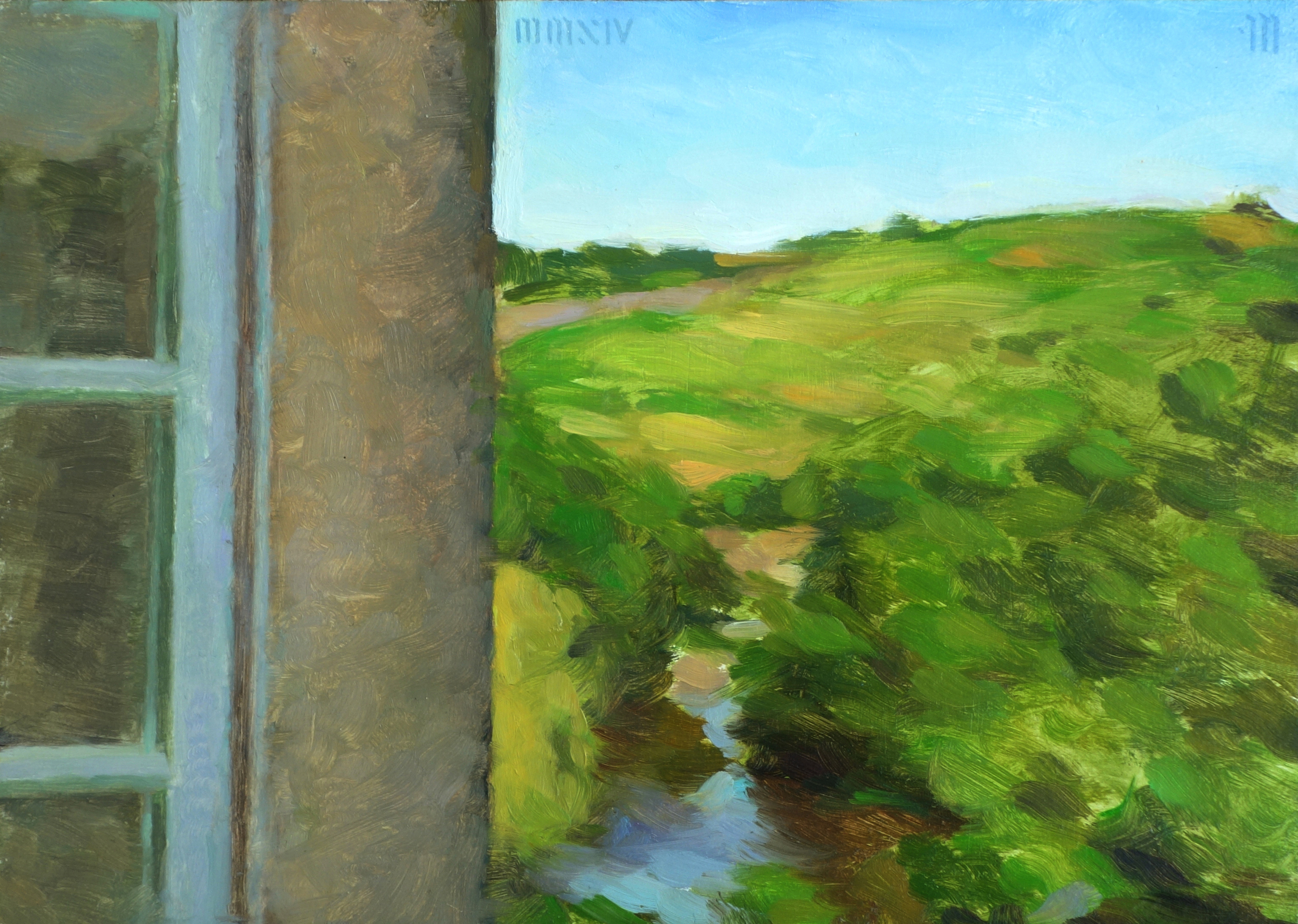 Out the Window, Oil, Tobias Hall