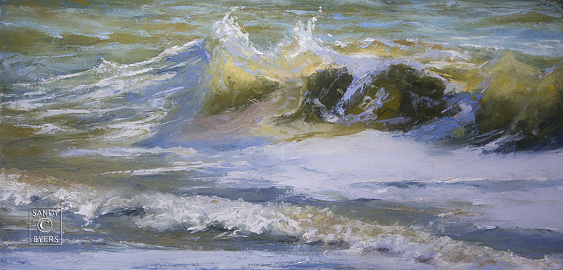 Breathing the Sea, oil 18x36