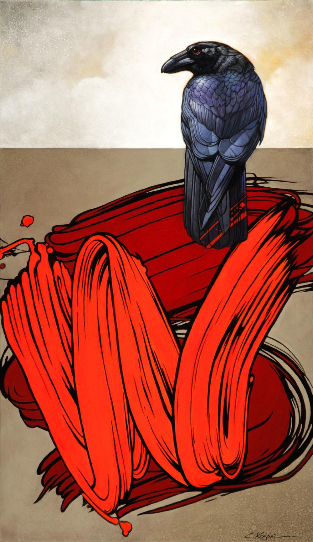 Raven Considers Lichtenstein