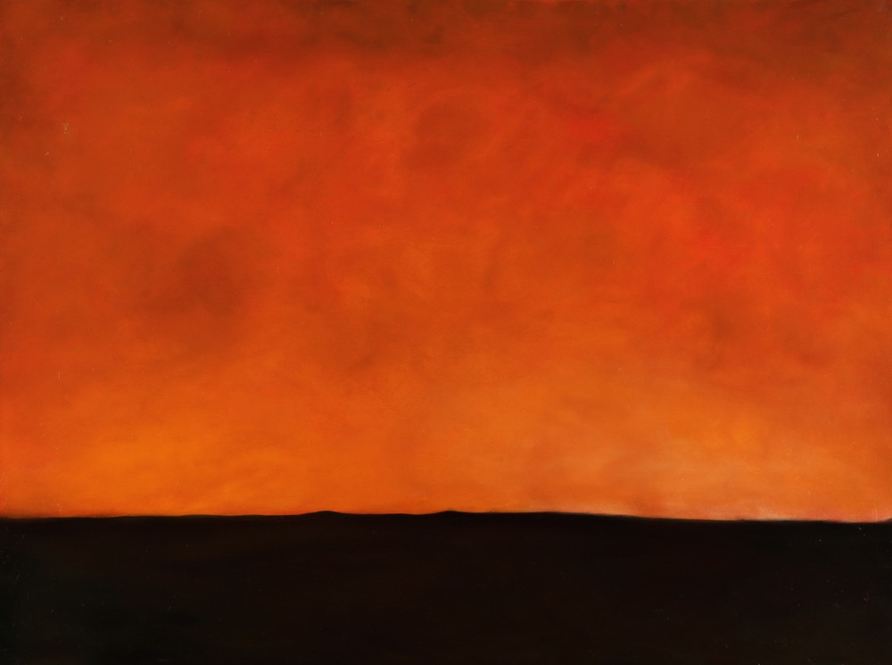 Bridget Fischer, Dream Sky 1, oil, 30x40