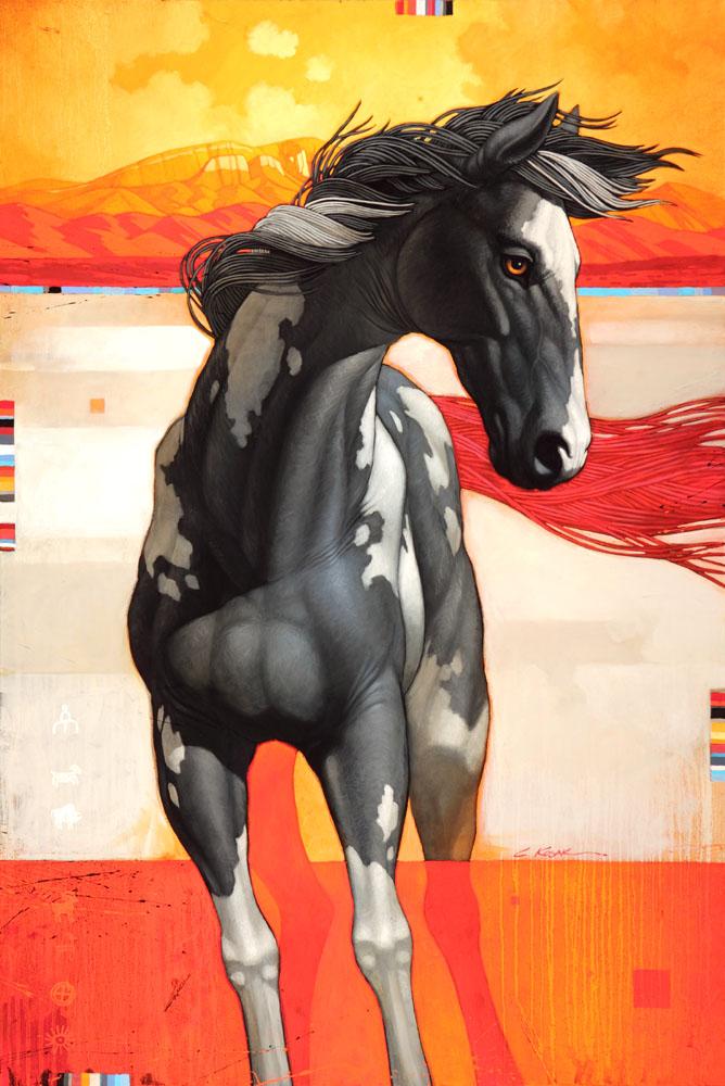 The Wild Horse of Sandia