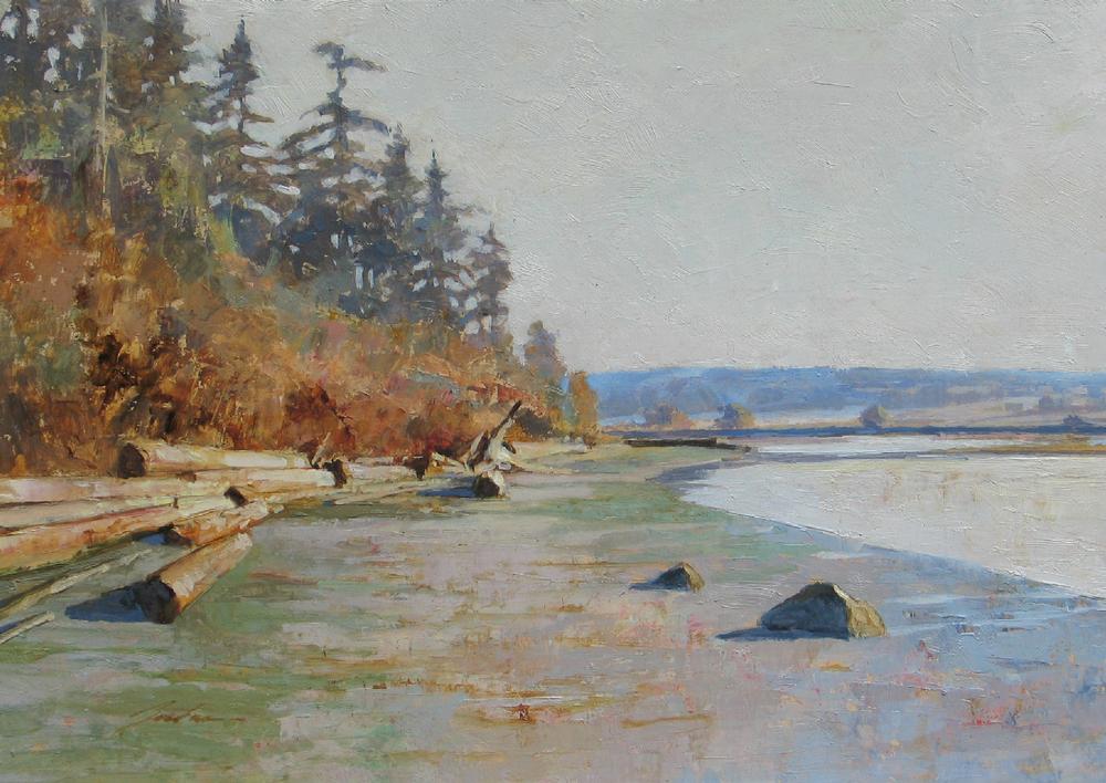 Winter Morning— Deer Lagoon