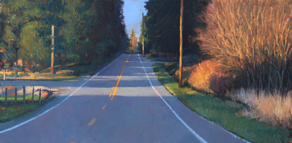 Jason Waskey, Useless Bay Ave, 12 x 24, $800