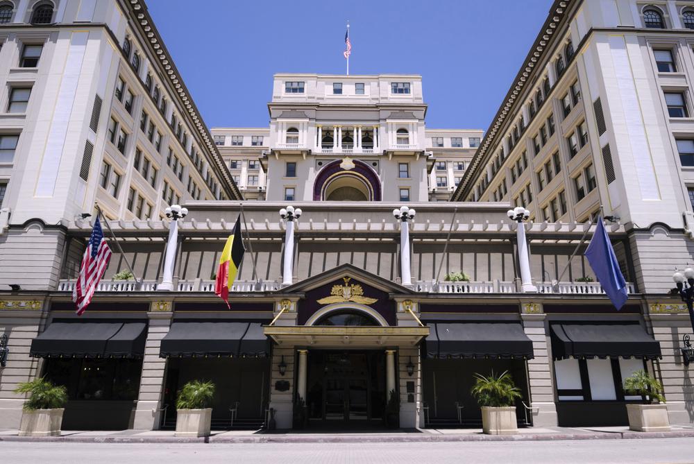 hotel building california