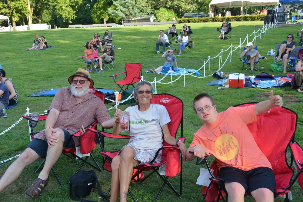 Meet the Sumners, Levitt Shell regulars & neighbors
