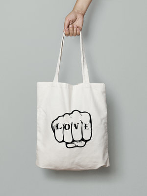 Share the love with this gorgeous LOVE TOTE by The Native State, founded by Scottish mama Frankie. Check out her lovely prints too. Use code MAMATRIBE to get 15% off.