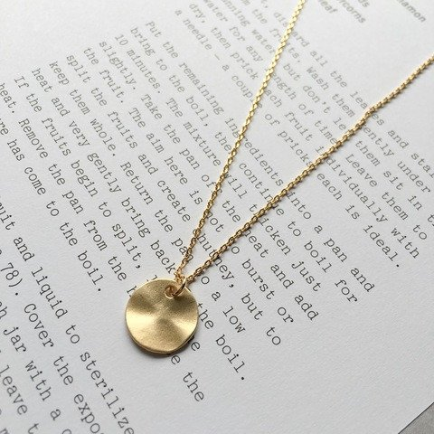Beautiful gold coin necklace from Jack & Freda - the gorgeous shop run by mama of two Kylie Dunn. There are some lovely pieces on her site - use code MAMAHOOD for 10% off.