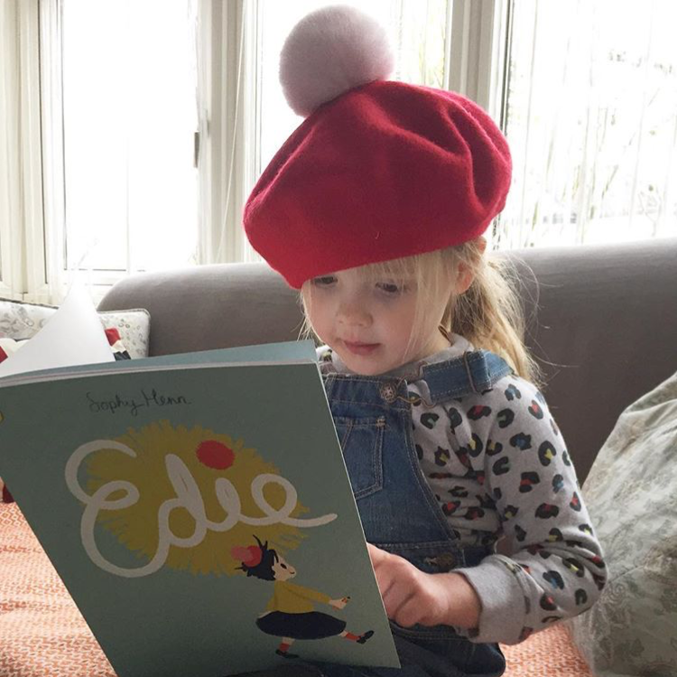 Personalised Valentines beret from talented mama Lucy of Lala & Pom. Have a beautiful kids beret embroidered with hearts or even the word LOVE. Beautiful. Use code MAMA15 for 15% off.