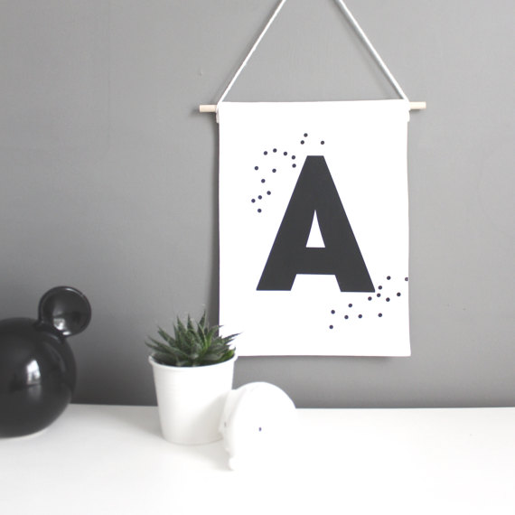 Gorgeous personalised wall hangings by clever mama Carol from  ByeByeBirdie  - actually love her entire range of babywear and gifts.