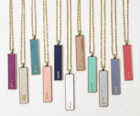 JILL MAKES - Lovely personalised necklaces in a rainbow of colours from mother of two Jill