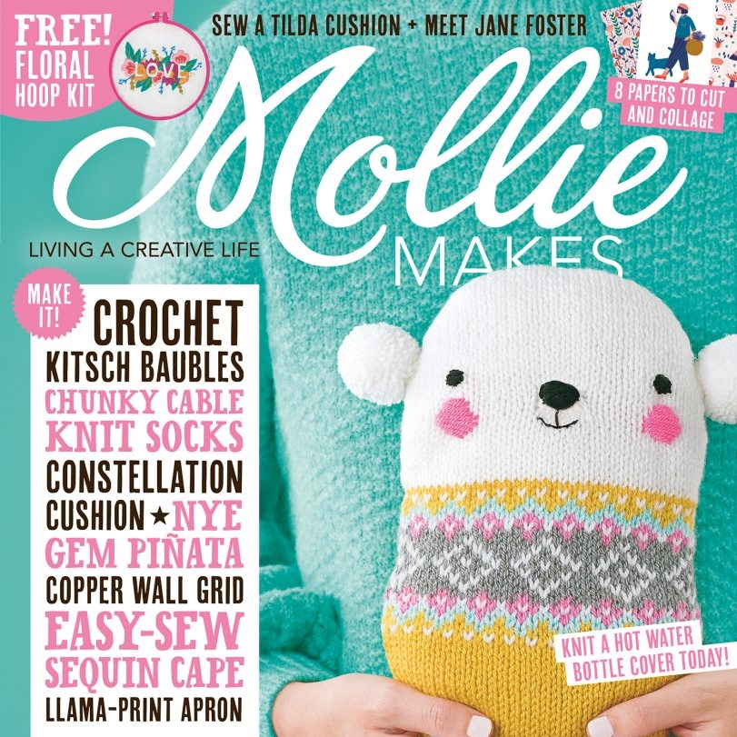 MOLLY MAKES - Website to watch in Molly Makes Magazine!