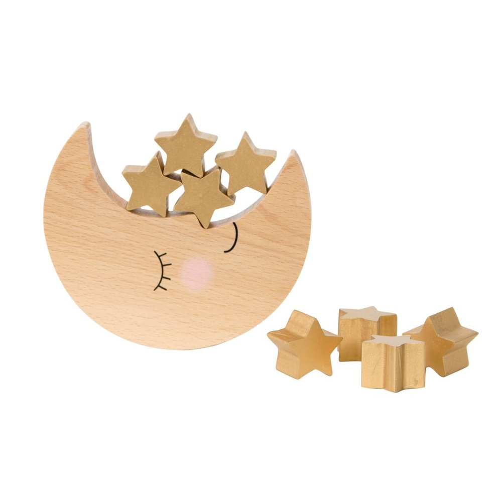 Wooden Balancing Game: Odd Bunnies