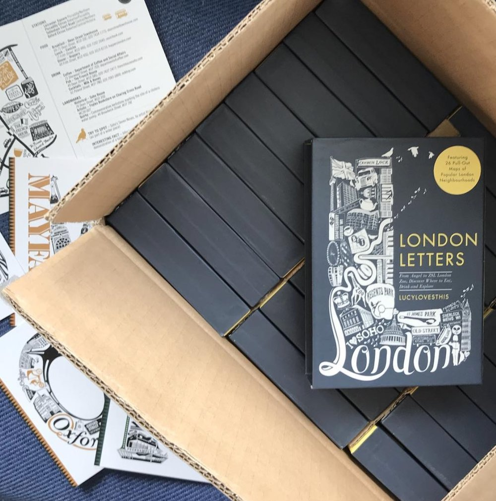 London Letters Book: Lucy Loves This