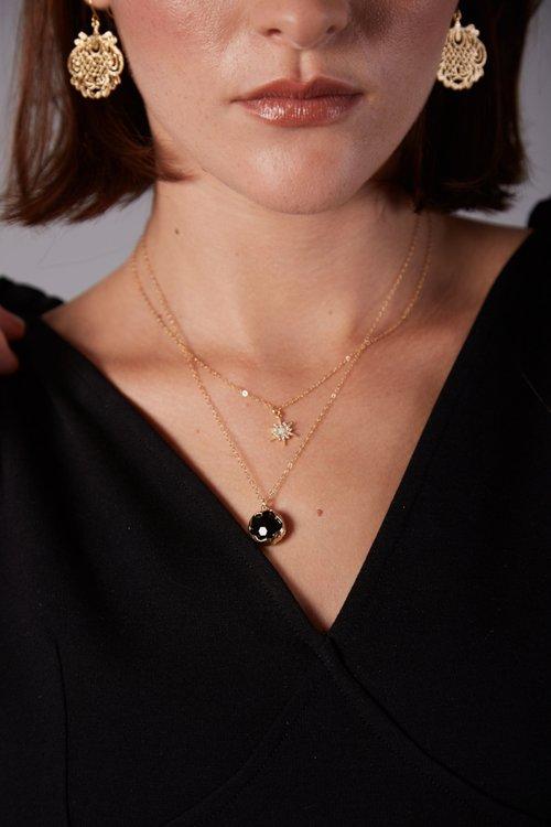 Necklace: Claire Hill Designs