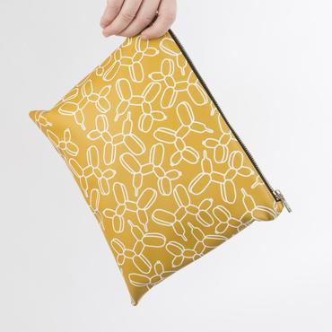 Pouch: Mustard Ivy
