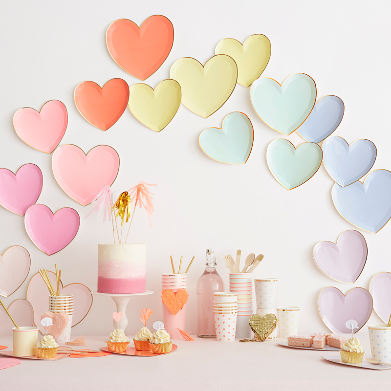 Little Lulubel: Heart Plates