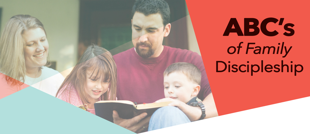 ABC's of family discipleship - Take a letter for each day of the month read a new devotional for each letter.  Learn together about Abiding in Christ, Being Filled with the Spirit, Counting the Cost, Delighting in the Lord…. and more!