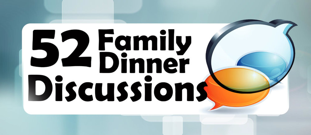 This download for parents has 52 fun discussion starting questions to help your family for meal times, driving time in the car or whenever! Engage with one another with these creative questions