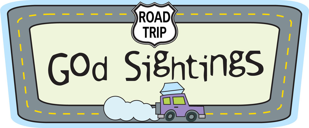 "God sightings are a great way for families to have faith conversations- and they are fun for kids! As you hit the road this summer driving around town or on a road trip, give your family a fun way to watch for God on the road. Print out this page that includes some fun ways to watch for God. At the end of the day, you can all talk about different ""God sightings""."