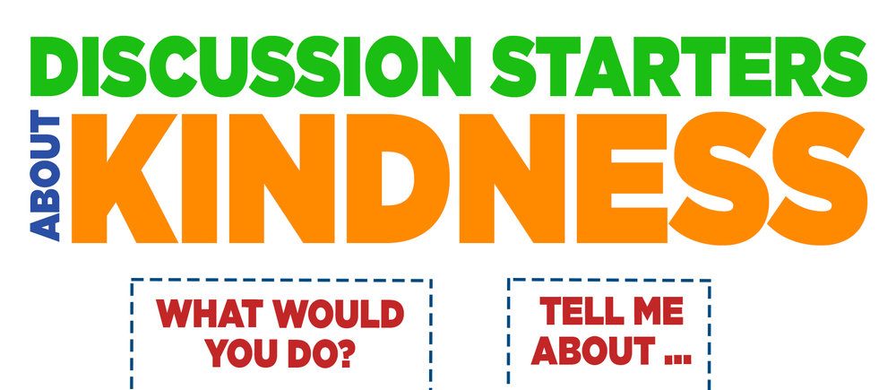 This month post the kindness theme verse in your house (Ephesians 4:32) and download these great discussion questions to apply the verse in some real life examples. Take turns asking the questions in the car, at a meal or before bedtime. Use these questions to help your kids make the right decisions and choose a kind response in multiple circumstances.