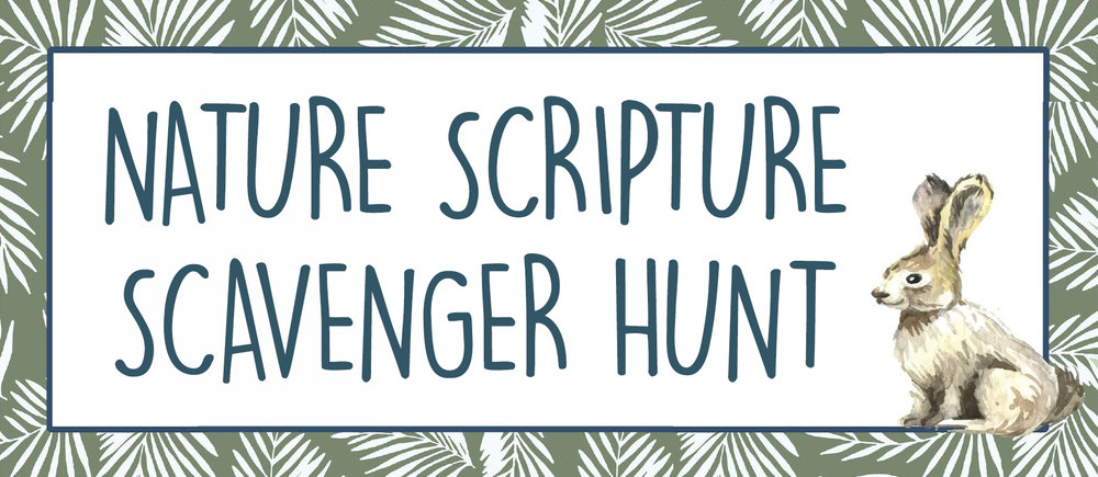This month get out and enjoy this nature scripture scavenger hunt together as a family! Take your Bibles, look up the verses and talk about each clue as you enjoy the fall weather and God's beautiful creation. Collect memories as you enjoy time with the Lord as a family.
