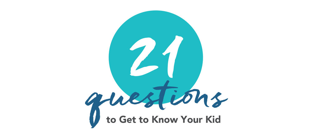 Kids change and to help you truly know your child you can use these 21 questions this month to spend time in focused learning about one another. Use these as a guide to spark meaningful conversation and practice listening well.