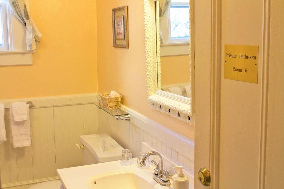 Bathroom of Rm 6: Cobblestones
