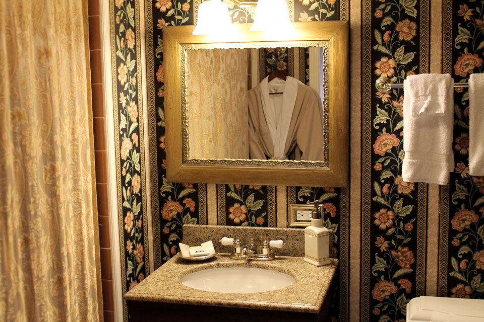 Rm 14 Bathroom at the Willard Street Inn