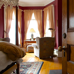 Link to description of our guest rooms and nightly room rates