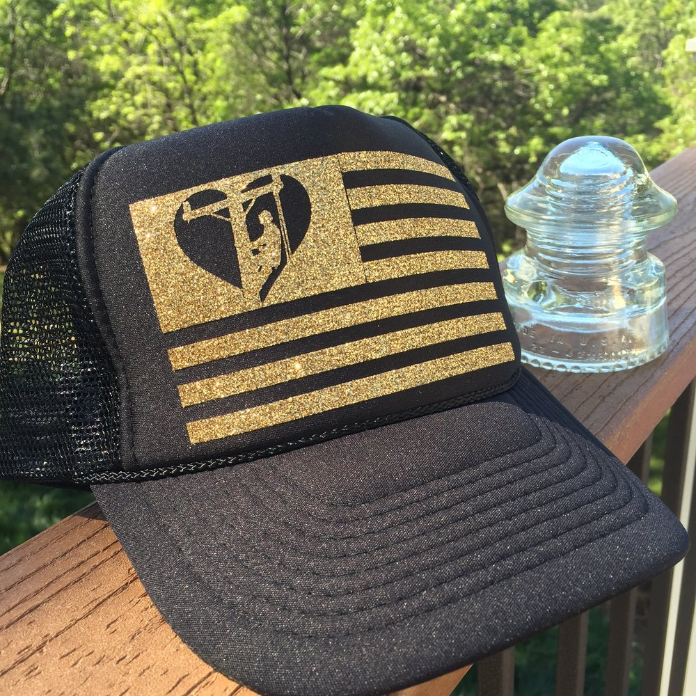 American Lineman Hat — Lineman Love Supply Co. LINE LIFE SUPPLY CO. 2c5d7fc46a1