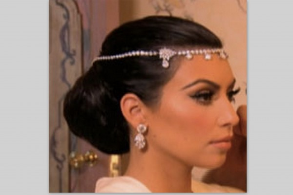 Kim Kardashian S Wedding Hair How To Joyfully Me