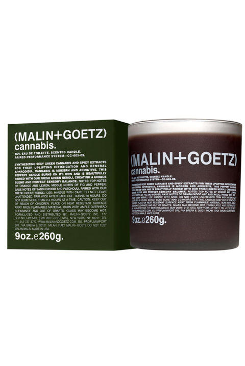Malin + Goetz Cannabis Candle, $52