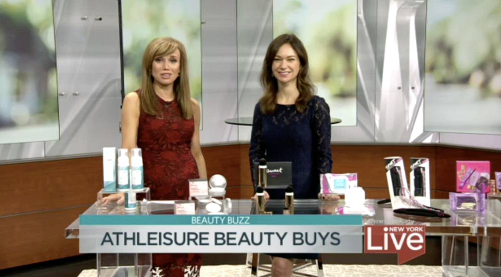 NBC New York Live - Athleisure Inspired Beauty Buys