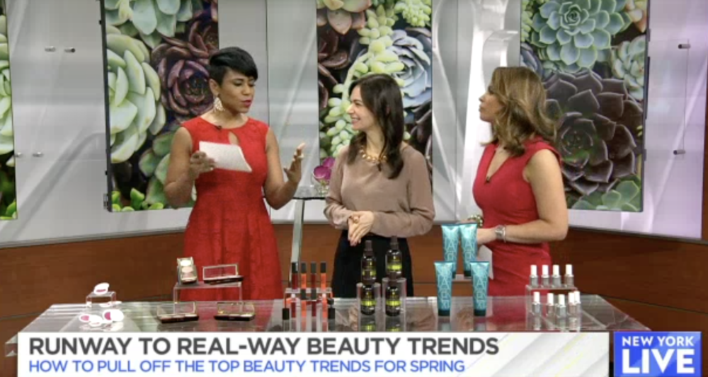 NBC New York Live - Spring Beauty Trends