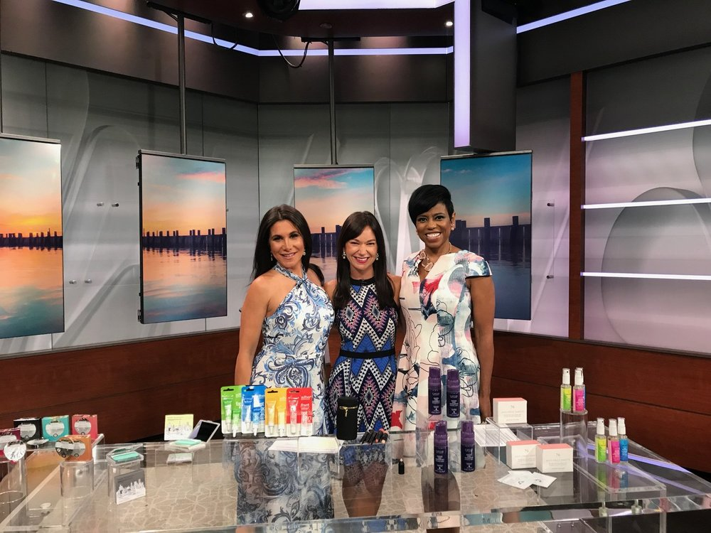 NBC New York Live: Summer Travel Beauty Buys