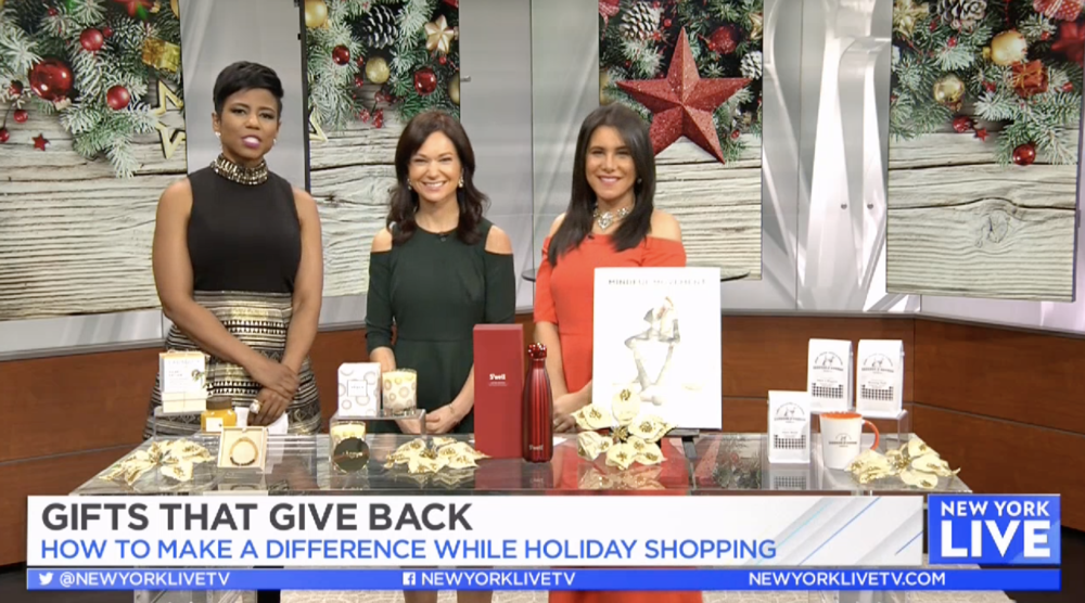 NBC New York Live: Holiday Gifts that Give Back
