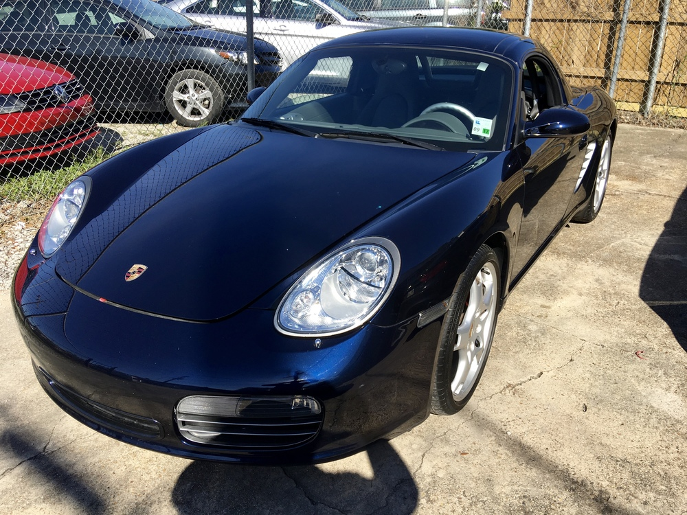 Porsche Boxster S (New Car Slate)