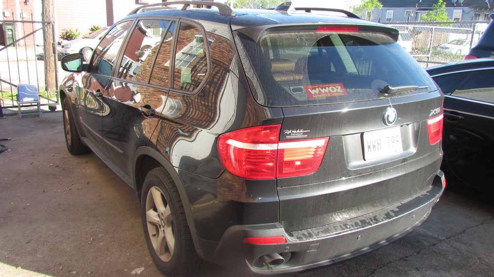 BMW X5 (New Car Slate)