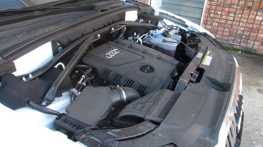 Engine bay wasn't bad but need a good cleaning.