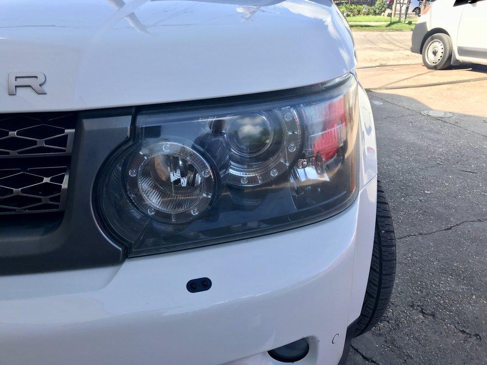 HEADLIGHT RESTORATION $50 (BOTH HEADLIGHTS) Headlights restored to OEM clarity to improve night time visibility