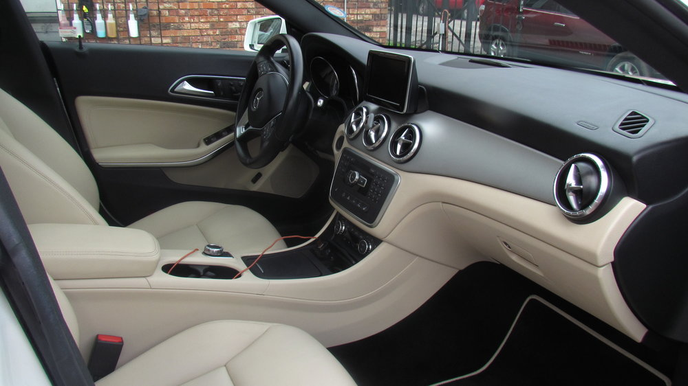 EXPRESS SLATE (INTERIOR ONLY) $50 Cars / $70 SUV & TRUCKS LIGHT INTERIOR ONLY DETAIL FOR: new to lightly dirty vehicles or vehicles we have clean before. Our Express Interior Slate was created for vehicles that don't require a full deep interior detail but a quick refresh. Interior carpet and mats are vacuumed as well as the trunk area.Interior doors, dash, and panels are cleaned, then protected with a UV blocking, non-greasy dressing.This service is similar to our Interior Slate but DOES NOT include carpet shampoo, stain removal, leather conditioning, or headliner cleaning.  Time: Approximately 1.5 Hours depending on size and condition of vehicle.