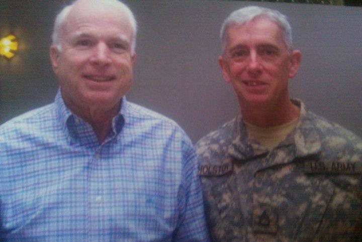 Michael Gholston & Sen. John McCain