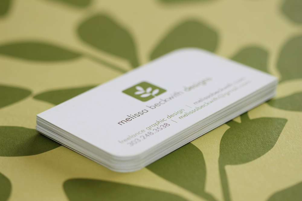 Melissa Beckwith business cards