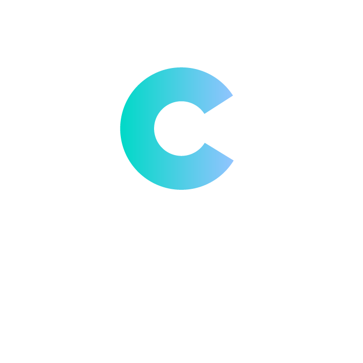 """Canopy"" in white beneath ""C"""