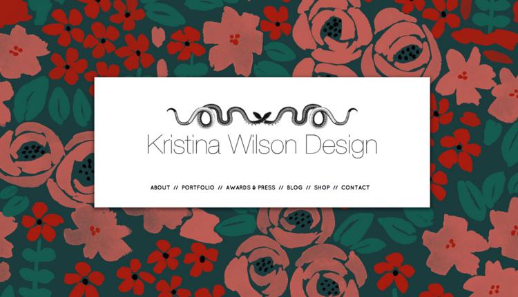 Kristina Wilson Design Kristinawilsondesign