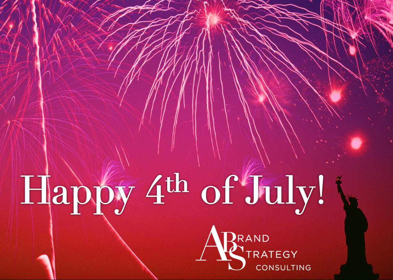 Happy 4th of July to you and yours! Take time out today to relax and connect with people you love. It is worth it.
