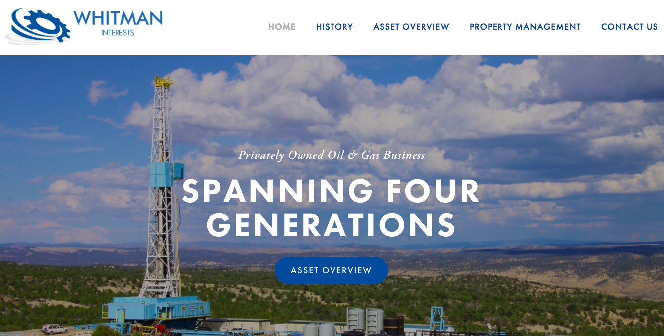 A Brand Strategy Consulting | Oil Company Websites | Houston