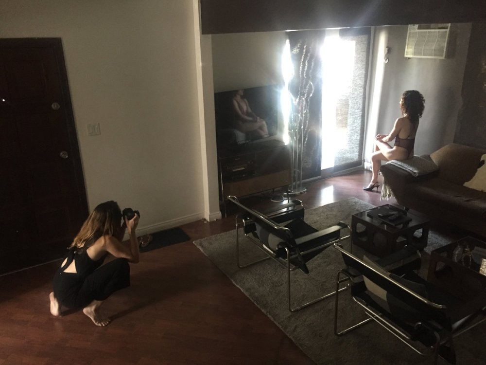 Brooklyn_Boudoir_Photoshoot_behind_the_scenes